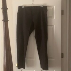 Eileen Fisher Stretch Black pants